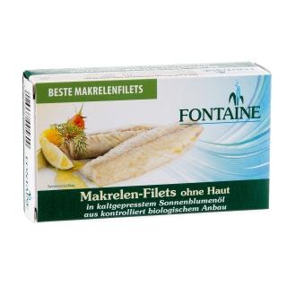 Fontaine Makrelen Filets