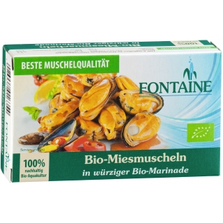 Fontaine Bio Miesmuscheln