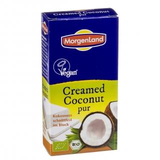Morgenland Bio Creamed Coconut pur Kokosnuss schnittfest