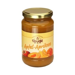 Bauckhof Bio Apfel-Aprikosenmus gesüsst