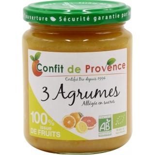 Confit de Provence Bio Fruchtaufstrich 3 Zitrusfrüchte ohne Zuckerzusatz *