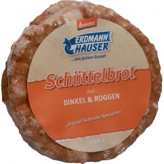 Erdmannhauser Bio Demeter Schüttelbrot Dinkel und Roggen