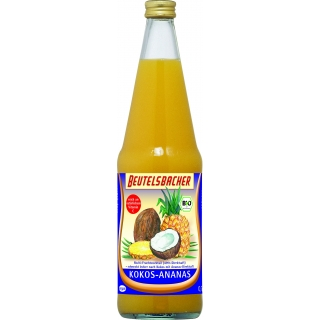 Beutelsbacher Bio Kokos-Ananas-Saft