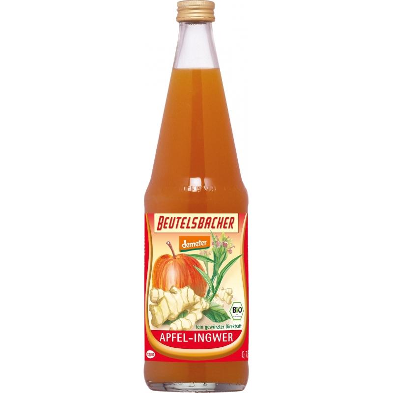 Beutelsbacher Bio Demeter Apfel-Ingwer Direktsaft