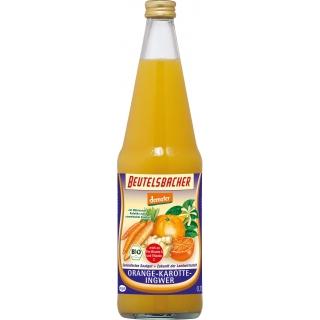 Beutelsbacher Bio Demeter Orange-Karotte-Ingwer Saft