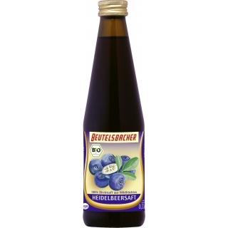 Beutelsbacher Bio Heidelbeersaft Muttersaft