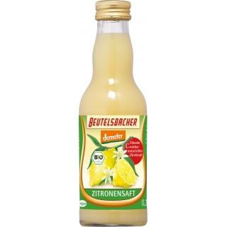 Beutelsbacher Bio Demeter Zitronensaft