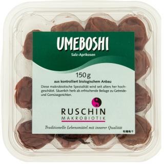 Ruschin Makrobiotik Bio Umeboshi Salz-Aprikosen