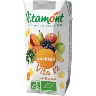 Vitamont Bio Cocktail Vita 12 reiner Fruchtsaft