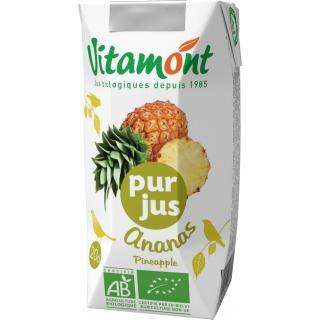 Vitamont Bio Ananas reiner Fruchtsaft