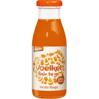 Voelkel Bio Demeter fair to go Karotte Mango