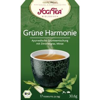Yogi Tea Bio Grüntee Grüne Harmonie