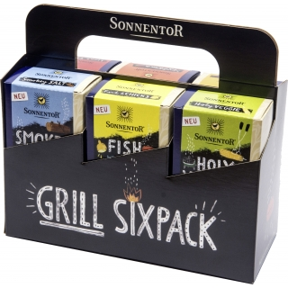 Sonnentor Bio Grill Sixpack