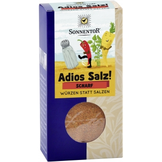 Sonnentor Bio Gemüse-Kräutermischung scharf Adios Salz!