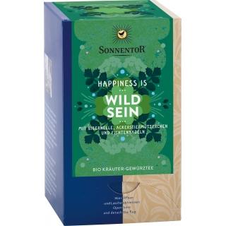Sonnentor Bio Kräuter-Gewürzteemischung Happiness is Wild sein