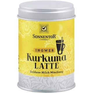 Sonnentor Bio Kurkuma Latte Ingwer Goldene Milch Mischung