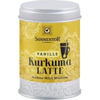 Sonnentor Bio Kurkuma Latte Vanille Goldene Milch Mischung