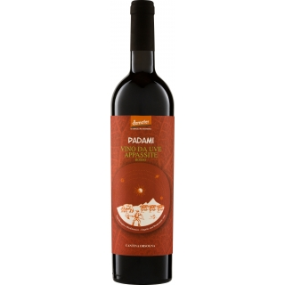 Cantina Orsogna Bio Demeter Rotwein Rosso Padami - Vino da uve appassite