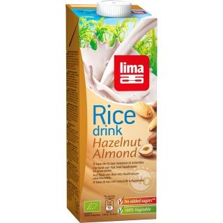 Lima Bio Reis Drink Haselnuss-Mandel