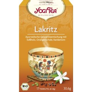 Yogi Tea Bio Gewürztee Lakritz Egyptian Spice