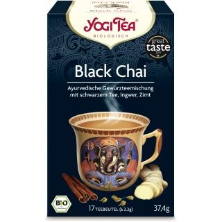 Yogi Tea Bio Gewürztee mit Schwarztee Black Chai