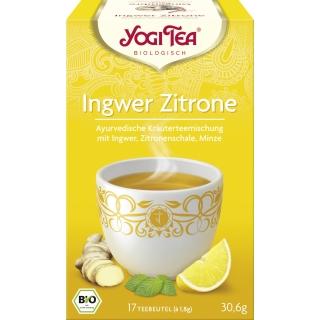 Yogi Tea Bio Kräutertee Ingwer Zitrone Tee