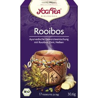 Yogi Tea Bio Rotbusch-und Gewürztee Rooibos African Spice Tee
