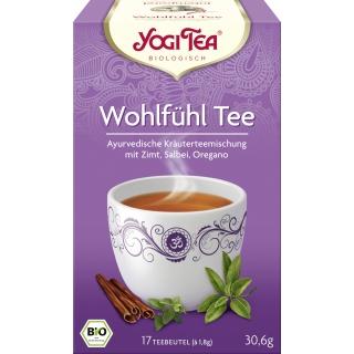 Yogi Tea Bio Kräutertee Wohlfühl