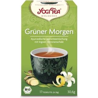 Yogi Tea Bio Jasmintee Grüner Morgen