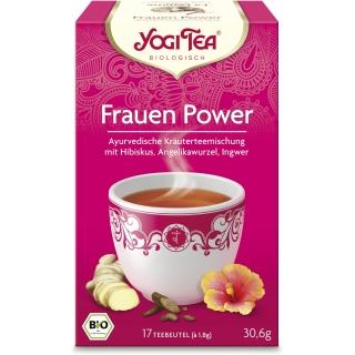 Yogi Tea Bio Kräutertee Frauen Power