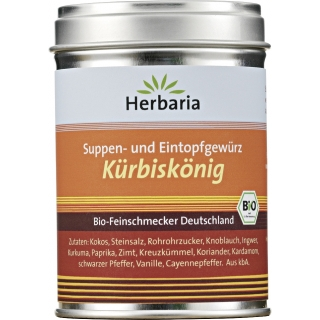 Herbaria Bio Gewürzmischung Kürbiskönig