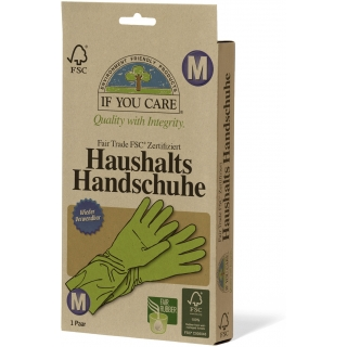 if you care Haushalts Handschuhe M