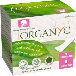 Organyc Slipeinlagen flach leicht