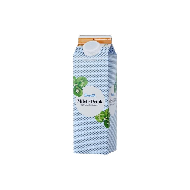 Milch Drink Bio Demeter pasteurisiert 2.6% Fett 1l - Besonders schonend zubereitet und schmeckt mit 2.7% Fettanteil besonders le