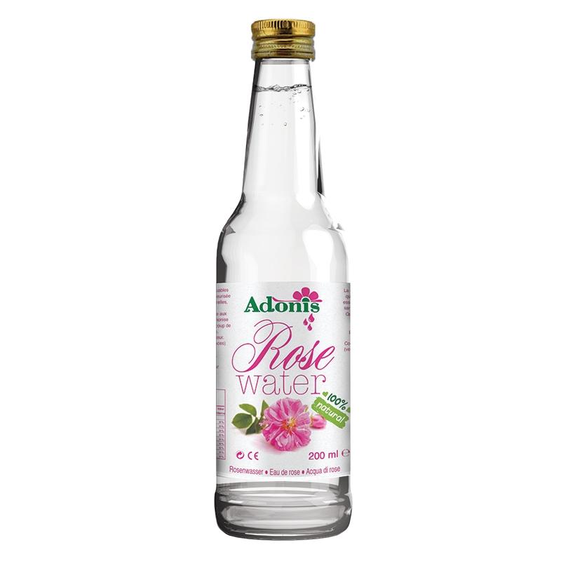 Rosenwasser 100% Natürlich 200ml - Dieses natürliche Rosenwasser mit vielfältige Eigenschaft ist ein Geschmackgeber bei allen Sp