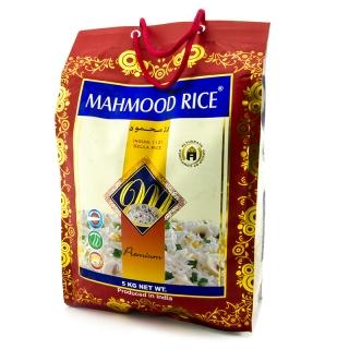 Mahmood Reis - Indian premium Sella Reis 5kg - Mahmood Reisklebt nicht, bleibt körnig und passt ideal zu fernöstlichen Gerichte