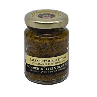 geriebene Trüffeln - weiss - Sommer Trüffeln gerieben, in Olivenöl mit Alba-Aroma