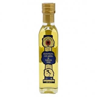 Aromatisiertes Trüffelöl - schwarz - Olivenöl mit Aroma von schwarzen Trüffeln