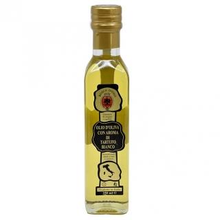 aromatisiertes Trüffelöl - weiss - Olivenöl mit Aroma von weissen Trüffeln