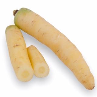 BIO Karotten Weiss Satin 1kg - Täglich frische Birnen Kaiser von unserem Bio und Knospe zertifiziertem Gemüse und Früchte Liefer